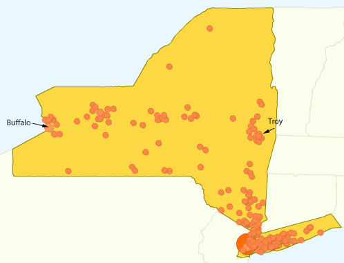 NY Traffic Map